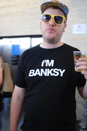 banksy al sonar